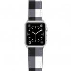 Casetify Apple Watch Kayış (42mm)-Gingham Style