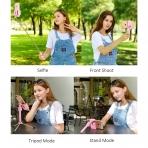 Cellways Bluetooth Selfie Çubuğu/Tripod Stand-Pink