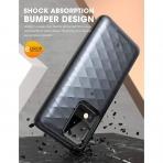 Clayco Galaxy S20 Ultra Argos Seri Kartlıklı Kılıf-Black
