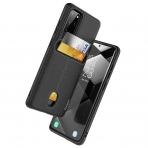 Clayco Samsung Galaxy S20 Plus Cache Serisi Cüzdan Kılıf