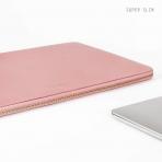 Comfyable MacBook Pro/Air Deri Laptop Çantası (13.3 inç)-Pink