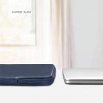 Comfyable MacBook Pro/Air Deri Laptop Çantası (13.3 inç)-Midnight Blue