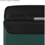 Comfyable MacBook Pro/Air Deri Laptop Çantası (13.3 inç)-Forest Green