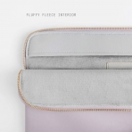Comfyable MacBook Pro/Air Deri Laptop Çantası (13.3 inç)-Purple