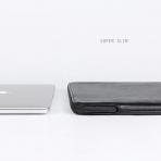 Comfyable MacBook Pro/Air Deri Laptop Çantası (13.3 inç)-Black