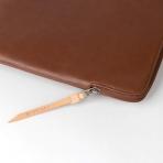 Comfyable MacBook Pro/Air Deri Laptop Çantası (13.3 inç)-Brown