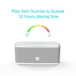 DOSS Touch SoundBox Bluetooth Hoparlör-White