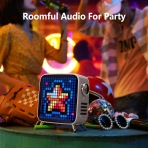 Divoom Tivoo Max Akıllı 40W Premium LED Bluetooth Hoparlör