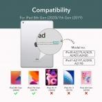 ESR iPad Kalem Bölmeli Kılıf (10.2 inç)(7. Nesil)-Green