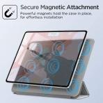 ESR iPad Pro Rebound Manyetik Akıllı Kılıf (12.9 inç)(4. Nesil)-Gray