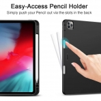 ESR iPad Pro Kalem Bölmeli Kılıf (12.9 inç)(4. Nesil)-Grey