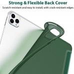 ESR iPad Pro Rebound İnce Kılıf (12.9 inç)(4. Nesil)-Dark Green