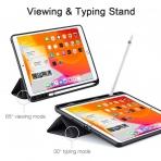 ESR iPad Kalem Bölmeli Kılıf (10.2 inç)(7. Nesil)-Black