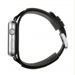Elobeth Apple Watch Deri Kayış (38mm/40mm)-Black