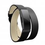 Elobeth Fitbit Inspire HR Deri Kayış (Small)-Black
