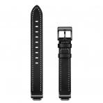 Elobeth Fitbit Inspire HR Deri Kayış-Black
