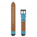Elobeth Fitbit Inspire HR Deri Kayış-Blue