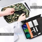 FINPAC Elektronik Aksesuar ve Tablet Çantası (11 inç)-Camo