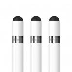 FRTMA Apple Kalem İçin Yedek Stylus Kapak (3 Adet)-White