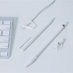 FRTMA Apple Pencil Kapak (4 Adet)-Ivory White