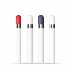 FRTMA Apple Pencil Kapak (4 Adet)-Red,White,Midnight Blue,White