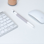 FRTMA Apple Pencil Manyetik Silikon Kılıf-Lavender