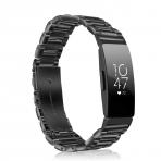 Fintie Fitbit Inspire Paslanmaz Çelik Kayış (Siyah)