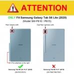 Fintie Galaxy Tab S6 Lite Klavyeli Kılıf (10.4 inç)-Grey