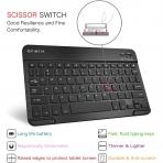 Fintie Galaxy Tab S6 Lite Klavyeli Kılıf (10.4 inç)-Navy