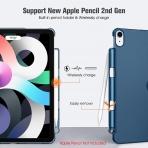 Fintie iPad Air 4 Kalem Bölmeli Kılıf (10.9 inç)-Navy