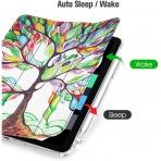 Fintie iPad Air 4 Kalem Bölmeli Kılıf (10.9 inç)- Z-Love Tree