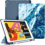 Fintie iPad Air 4 Kalem Bölmeli Kılıf (10.9 inç)-Z-Ocean Blue
