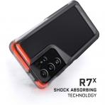 Ghostek Galaxy S21 Ultra Atomic Slim Serisi Kılıf (MIL-STD-810G)-Black