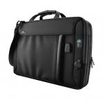 Ghostek NRGmessenger Laptop Omuz Çantası (16000 mAh Taşınabilir Batarya Dahil)