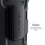Ghostek iPhone 11 Pro Max Iron Armor 3 Serisi Kılıf (MIL-STD-810G)-Black