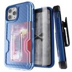 Ghostek iPhone 11 Pro Max Iron Armor 3 Serisi Kılıf (MIL-STD-810G)-Blue