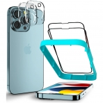 Goospery iPhone 13 Pro 2+2 Paket Ekran ve Kamera Lens Koruyucu