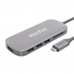 HooToo MacBook USB C to USB 3.1 Adaptör/Şarj Cihazı (Gri)