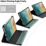 Infiland iPad Pro Business Standlı Kılıf (12.9 inç)(4.Nesil)-Green