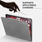 Infiland iPad Pro Standlı Kılıf (12.9 inç)(4.Nesil)-Grey