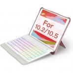 Inateck iPad Aydınlatmalı Klavyeli Kılıf (10.2 inç)-Pink