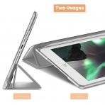Infiland iPad Mini 5 Kalem Bölmeli Kılıf (7.9 inç)-Silver