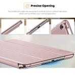 Infiland iPad Mini 5 Kalem Bölmeli Kılıf (7.9 inç)-Rose Gold