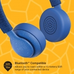 JAM Been There Kulak Üstü Bluetooth Kulaklık-Blue