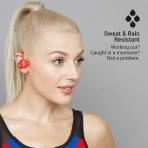 JAM Live Fast Kancalı Kulaklık-Red