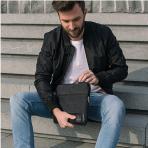 Johnny Urban Kanvas Laptop Çantası (14inç)-Vintage Black