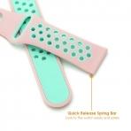 KADES Samsung Gear S3 Soft Kayış (Large)-Pink Mint