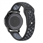 KADES Samsung Gear S3 Soft Kayış (Large)-Black Gray