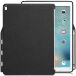 KHOMO iPad Pro Kalem Bölmeli Kılıf (12.9 inç)-Twill Gray