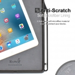 KHOMO iPad Pro Kalem Bölmeli Kılıf (12.9 inç)-Leather Brown